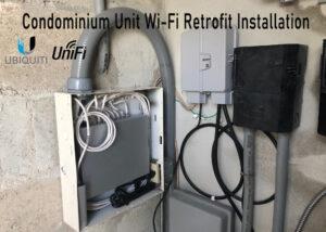 Condominium Wi-Fi Retrofit