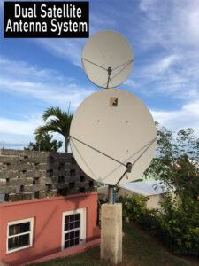 Dual Satellite Antenna System