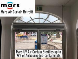 Air Curtain Retrofit