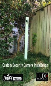 Custom Security Camera Installation