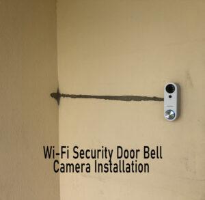 Wi-Fi Security Video Door Bell