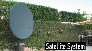 Single 6' Satellite Antenna System