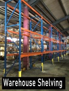 Warehouse Pallet Storage Shelving