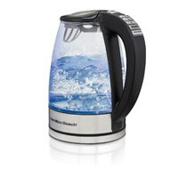 Hamilton Beach Variable Temperature Kettle has six integrated one-touch temperature settings, For the perfect cup of tea