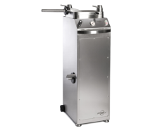 Commercial Hydraulic Stuffer (Sausage Press) s available in three capacities – 28, 55, and 88 pounds. Perfect solution for high capacity Sausage Press output with a small foot print