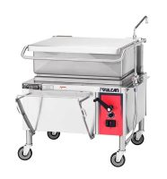 Chefs tasked with cooking large batches of food often turn to one key piece of foodservice equipment: the braising pan, also known as a tilt skillet. This versatile unit, saves both time and space