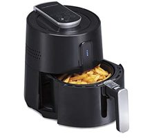 Hamilton Beach 2.6 Quart Digital Air Fryer Oven with 6 Presets, Easy to Clean Nonstick Basket
