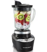 The Smoothie Smart™ Blender prepares a perfect smoothie with the press of a button: Auto Smoothie. This 45-second smart blending cycle is programmed with the precise pulses and speeds.