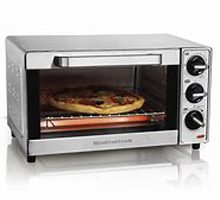 Small enough to fit on your kitchen counter, but large enough to help you prepare for any snack, meal or party, the Hamilton Beach Countertop Oven with Convection & Rotisserie.