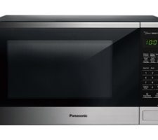 Countertop/Built-In with Genius sensor. Equipped with 1100-Watts of power, a 1.3-cubic-foot capacity and Panasonic with Genius sensor, this microwave oven delivers fast, even cooking results.